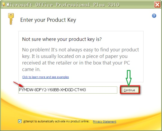 Microsoft Office 2010 Product Key for Free