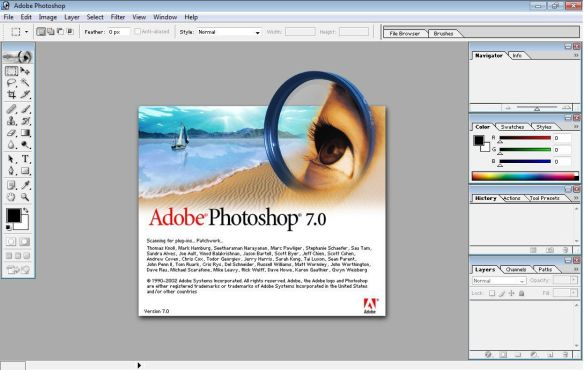 Download Adobe Photoshop 7.0 Full for Free