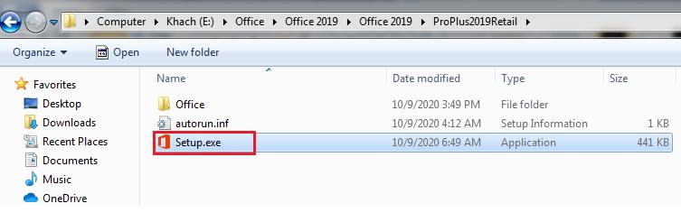 office 2019 setup file