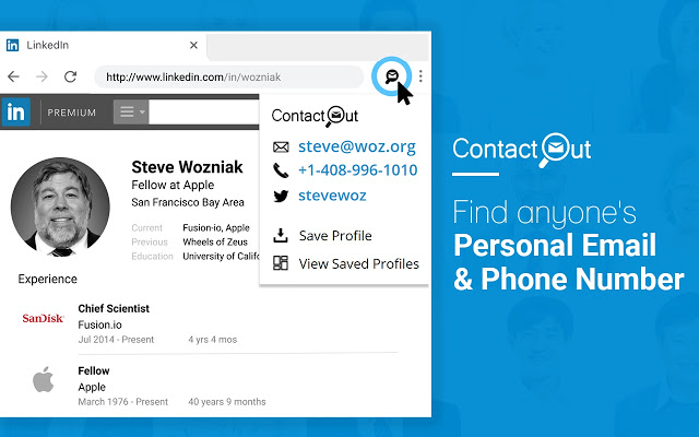 Contactout - Find Anyone Personal Email & Phone Number on LinkedIn