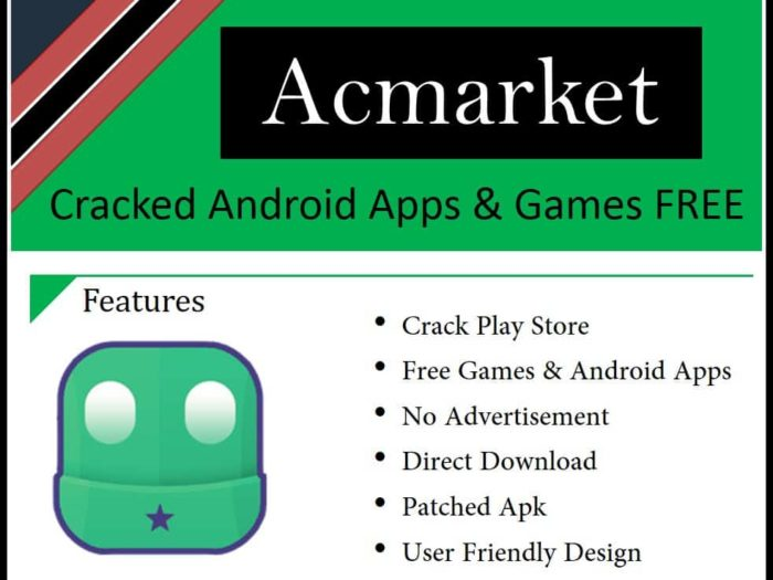 Get Mod Apps Using ACMarket Apk in Android Devices