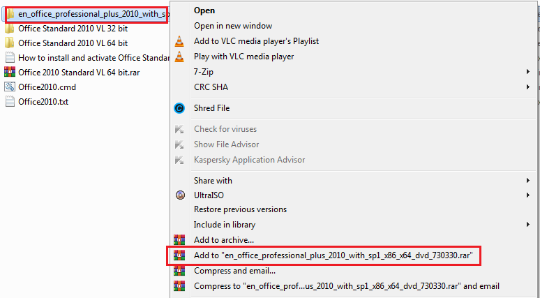 How to use Winrar to compress files