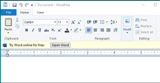 Wordpad Download and Use