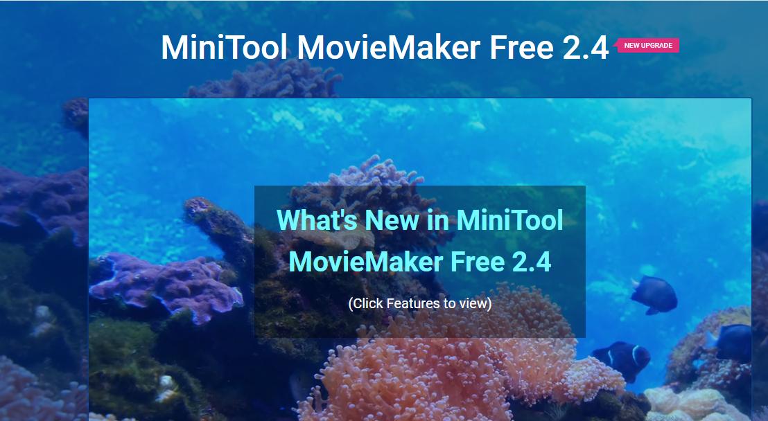 MiniTool MovieMaker Free 2.4