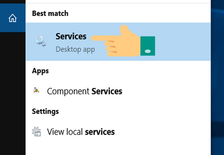 Windows 10 services