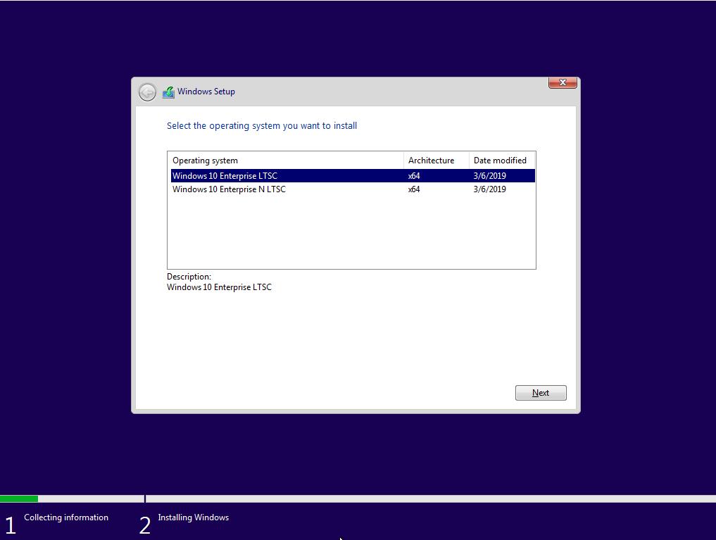 Download Windows 10 Enterprise LTSC