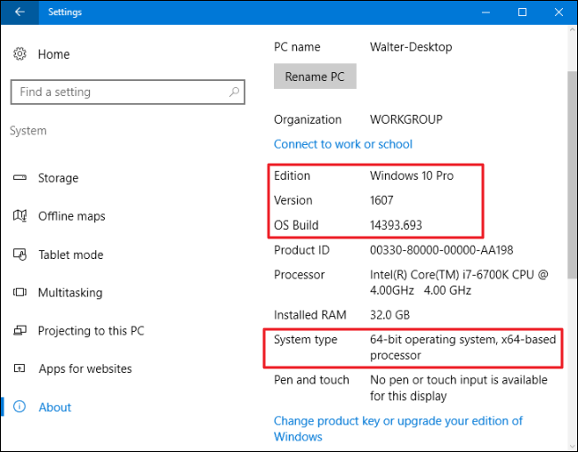 How to find out which Windows 10 edition
