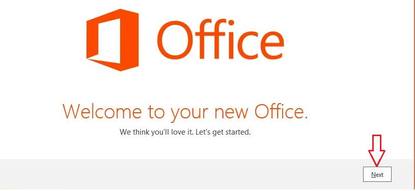 Install Office 1