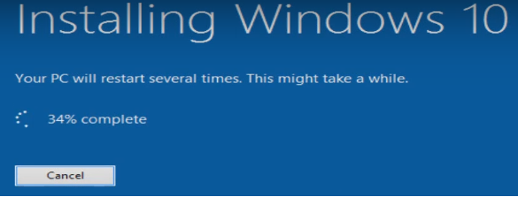 Install Windows 10 from Windows 8