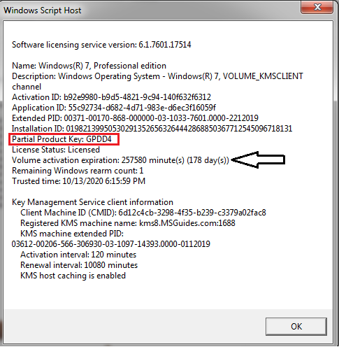 Windows-uses-KMS-key