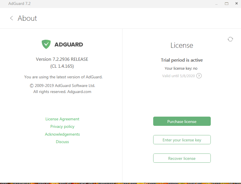 Adguard Premium for PC 180 days