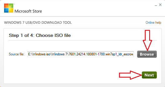 link to Windows 7 iso file
