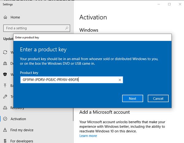 Windows 10 Product Key Free 2021