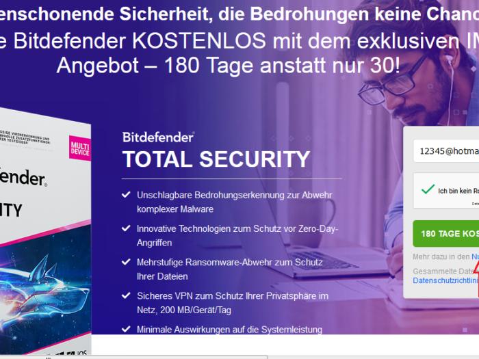Bitdefender Total Security 2021 for Free