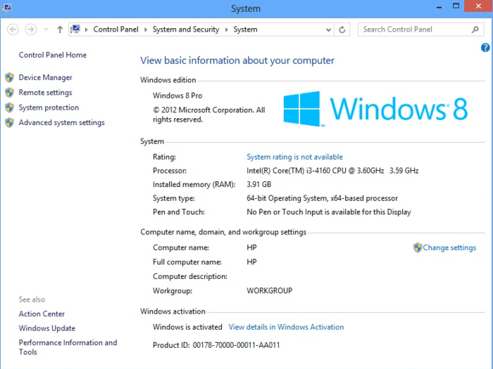 Free Windows 8 product key