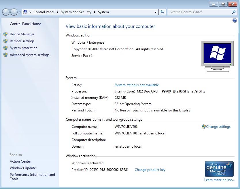 Windows 7 Enterprise Product Key Free