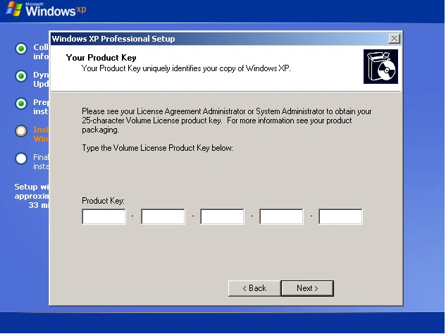 Windows XP Product Key Free 2021