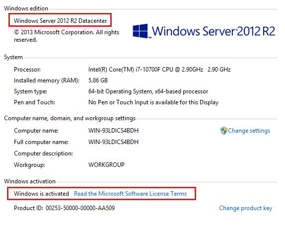 Cheap Windows Server R2 Datacenter Product Key