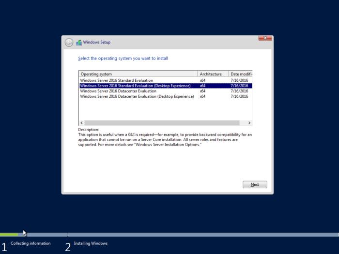 Download Windows Server 2016