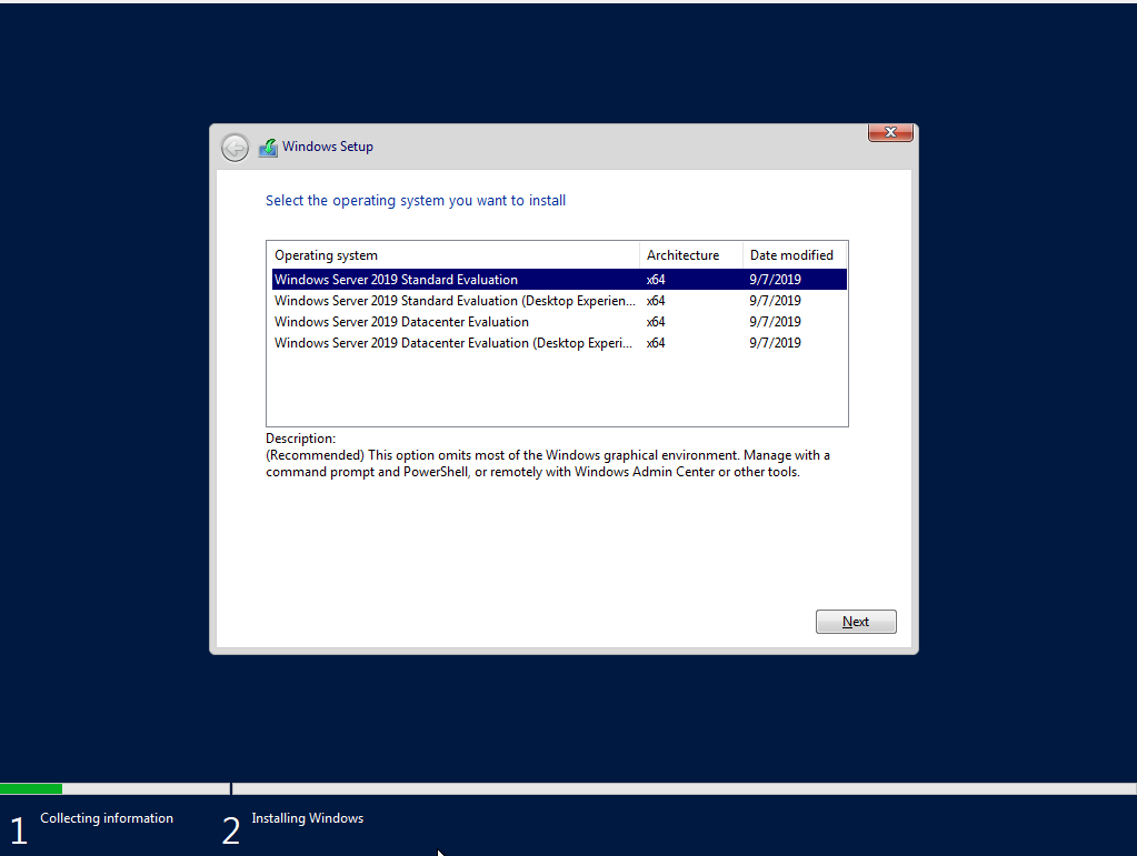 Download Windows Server 2019