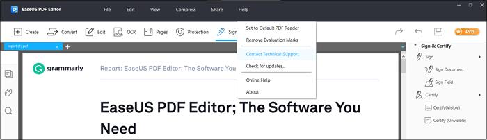 use EaseUS PDF Editor 2