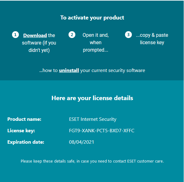 Eset Internet Security Key for Free