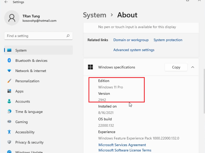 How to upgrade Windows 11 Home to Pro