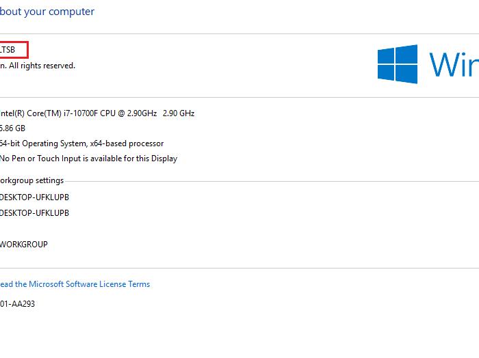 Download Windows 10 Enterprise 2015 LTSB