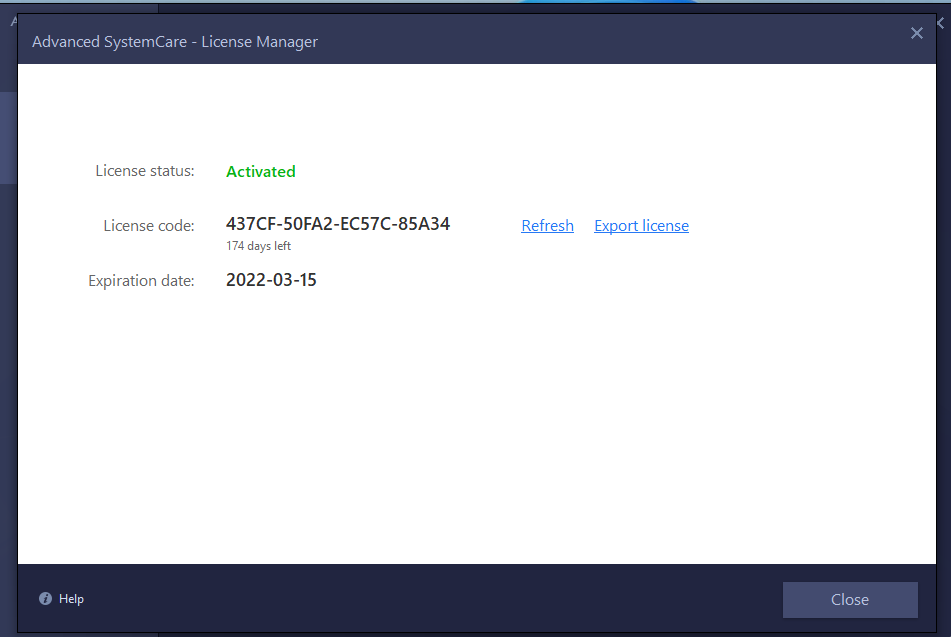 Free Advanced SystemCare Pro 14 Key