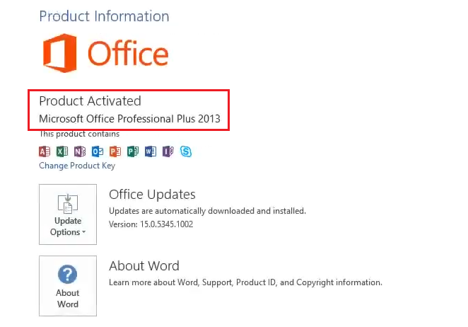 How to activate Microsoft Office 2013 for Free