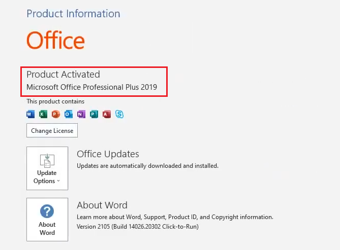 How to activate Microsoft Office 2019 for Free